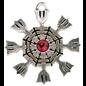 Hex Eagershelm Pendant: Protection & Achievement