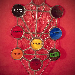 Hex Stained Glass Kabbalistic Tree of Life