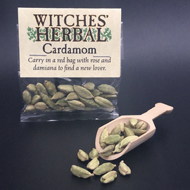 Witches' Herbal Cardamom Bagged