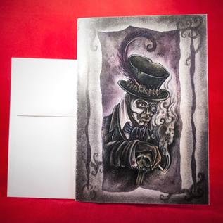 Hex Greeting Card - Baron Samedi