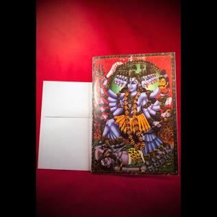 Hex Greeting Card - Kali
