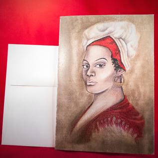 Hex Greeting Card - Marie Laveau