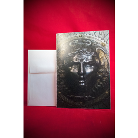 Hex Greeting Card - Medusa