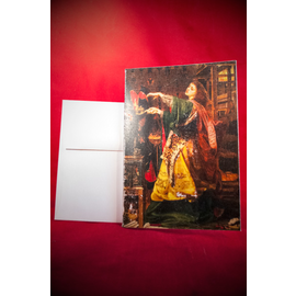 Hex Greeting Card - Morgan Le Fay