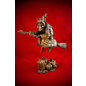 La Befana the Witch Statue in Wood Finish