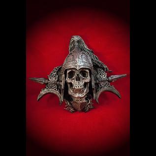 Totentanz Knight Wall Plaque in Silver Finish