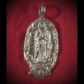 Guadalupe Pendant in Silver