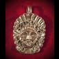 The Gorgon Medusa Pendant in Silver