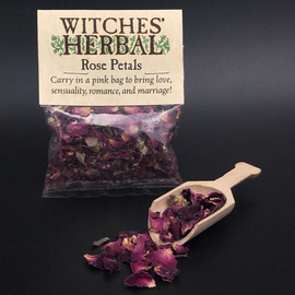 Witches' Herbal Rose Petals Bagged