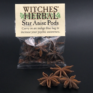 Hex Star Anise Pods Bagged