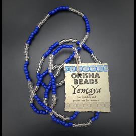 Yemaya Orisha Beads
