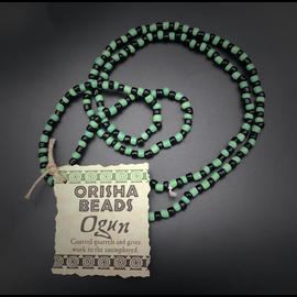 Ogun Orisha Beads