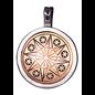 Earth-Star Flower Talisman for Serenity & Inner Strength