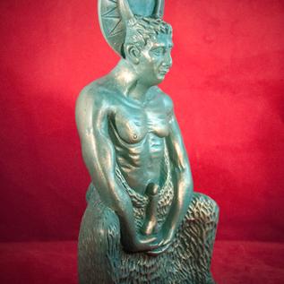 Hex Satyr Herne Statue