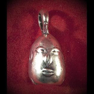 Ellegua Head in Silver