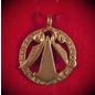 Hesselberg Amulet with Futhark in Bronze