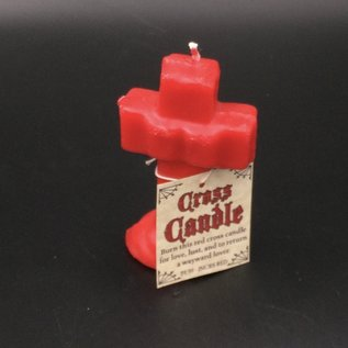Cross Candle Red