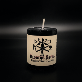 Hex Votive Candle - Binding Spell