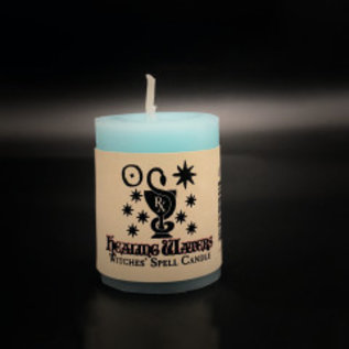 Hex Votive Candle - Healing Waters