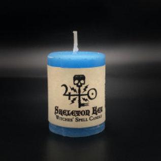 Hex Votive Candle - Skeleton Key