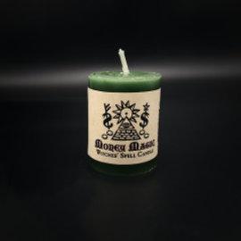 Hex Votive Candle - Money Magic
