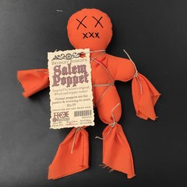 Bridget Bishop's Orange Salem Poppet