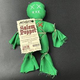 Bridget Bishop's Green Salem Poppet