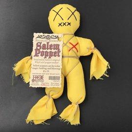 Bridget Bishop's Yellow Salem Poppet