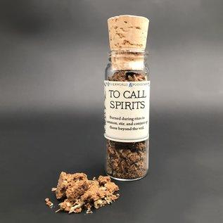 To Call Spirits Incense Vial