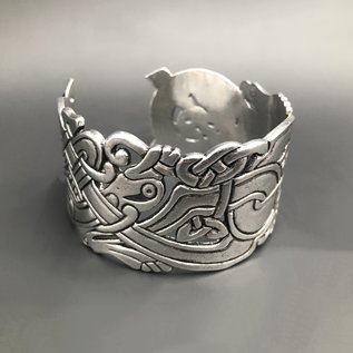 Large Celtic Prewter Cuff - Made in Ireland