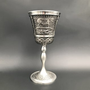 Queen Maeve Mythical Wine Goblet - Made in Ireland