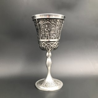 King Laugh Mythical Wine Goblet - Made in Ireland