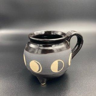 Moon Phases Cauldron Mug