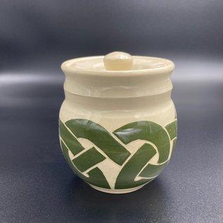 Celtic Knotwork Jar