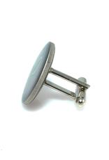 Hand Enameled Coin Cufflinks - Australia