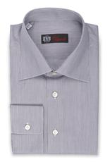 Micro-stripe Shirt with Convertible Cuff