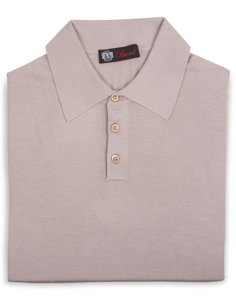 70%WS 30%SE Polo Sweater - P-16405
