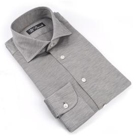 Cotton Jersey Knit Shirt, Melange