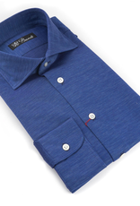 100%CO Jersey Knit Shirt, Melange - P-17131