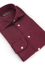 100%CO Jersey Knit Shirt, Melange - P-17139