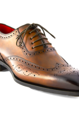 Brown Oxford with Burnished Toe
