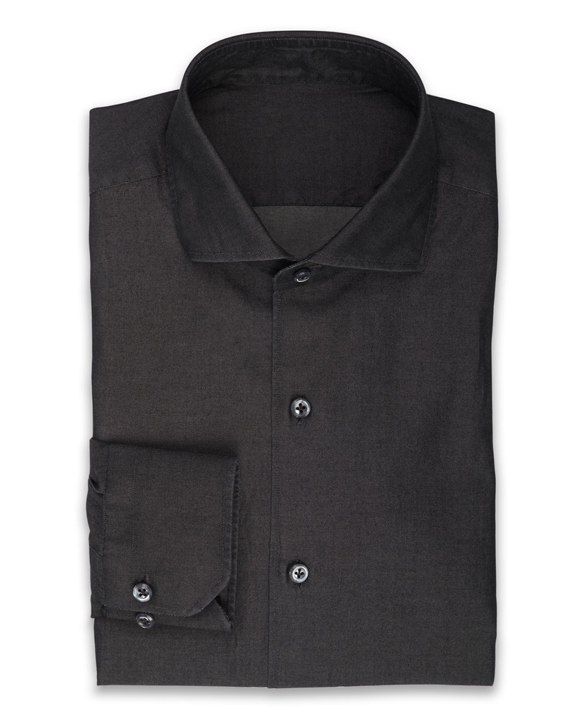 100%CO Handmade fine denim shirt - P-17182