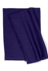 100%WS Purple Scarf