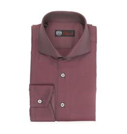 Woven Textured Cotton Shirt