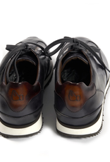 Calf Leather Sneakers - Dark Gray