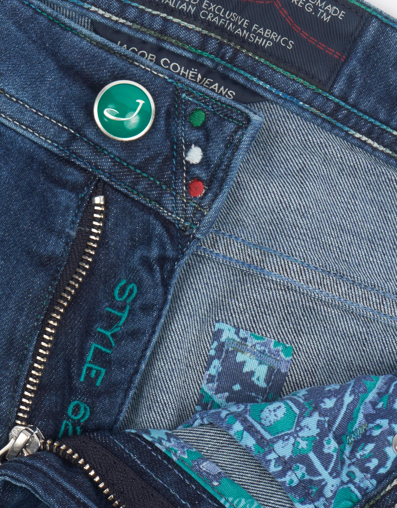 92%CO6%EA2%EL Jacob Cohen Jeans