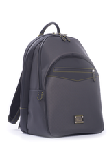 Carbon Fiber Backpack, Yellow Stitch