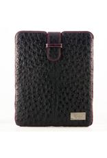 iPad™ Cover in Blue Ostrich