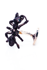 Black Sterling Ant Cufflinks