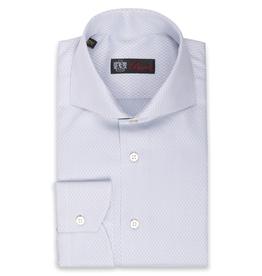 Woven Cotton Shirt, Diamond texture